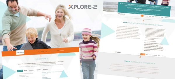Xplore2Trial Single Page Website Design