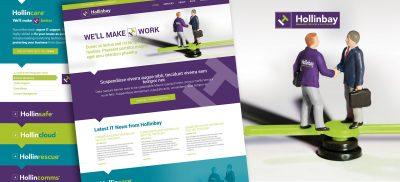 Hollinbay - WordPress Website Design and Build
