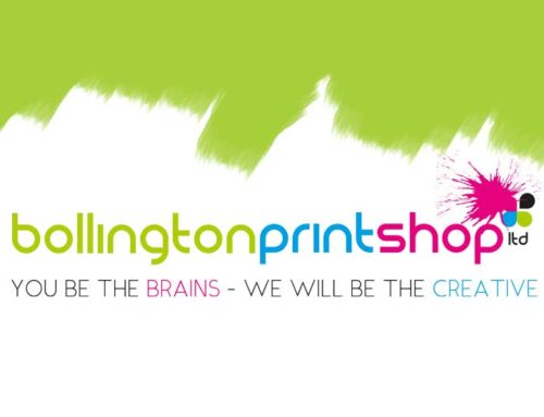 Funky New WordPress Website for the Bollington Printshop