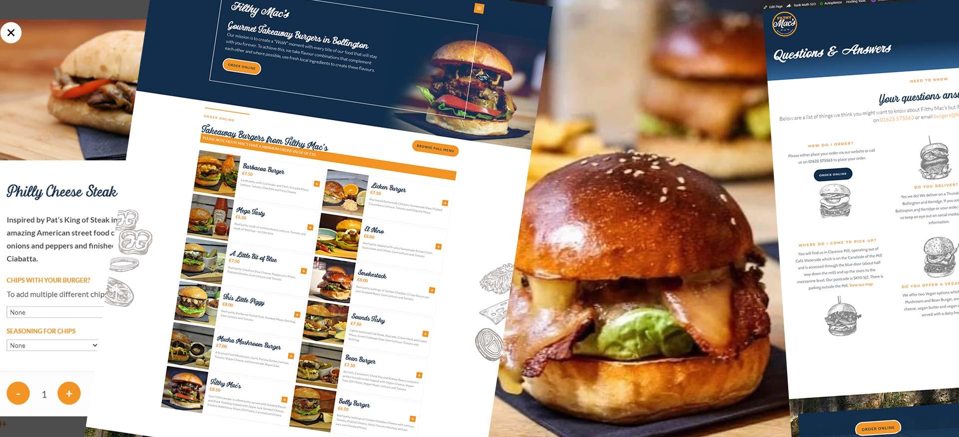 Filthy Macs Burgers Bollington